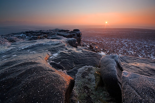 Iced Rocks at Stanage | by andy_AHG