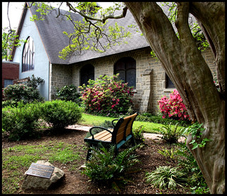 Side Garden - St. Timothy's Episcopal, Columbia, SC - Est. 1892 | by geraldbrazell