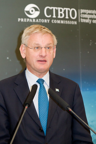 Swedish Foreign Minister Carl Bildt | by The Official CTBTO Photostream