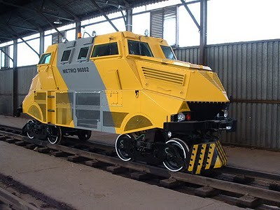 Kobus This Is A Rare South African Armored Track