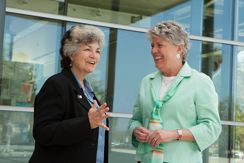 Julia Brownley and Carmen Ramirez | by Julia Brownley for Congress