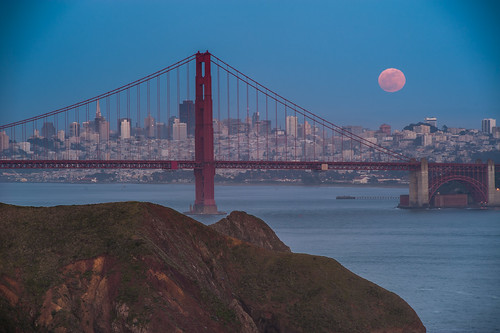 Marin and the Super Moon, May 5th, 2012 | by kern.justin