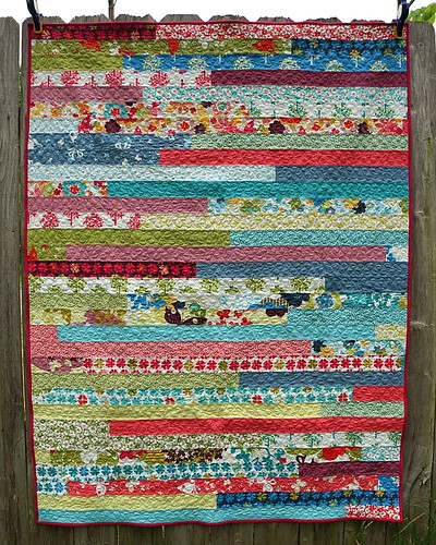 Jelly Roll Race Quilt | by jenniferworthen