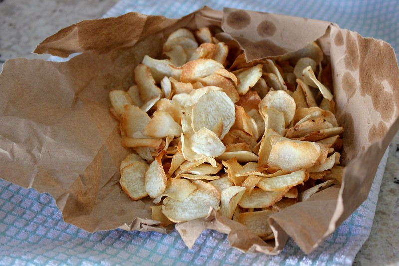 Tasty Taro Chips