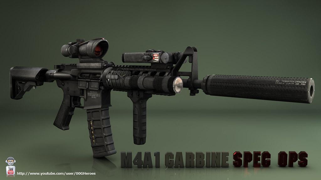 m4a1 carbine wallpaper spec ops edition brady12ftw flickr