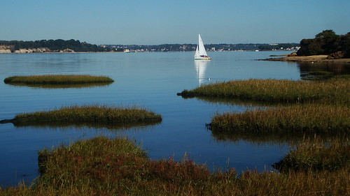 Calm waters in Poole Harbour | by brightondj - getting the most from a cheap compact