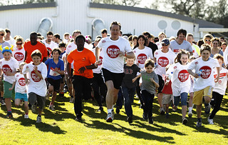 PM running the Sport Relief Mile 2012 | by The Prime Minister's Office