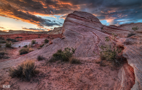 Valley of Fire Sunset | by Björn Burton