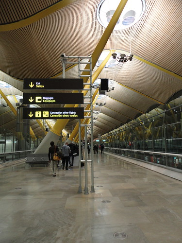Terminal 4S, Madrid Barajas Airport | by Taylor Mc