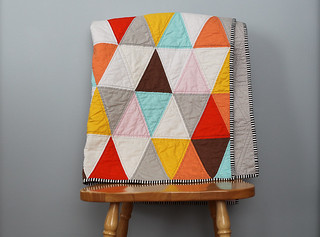 20120409 Triangle Quilt-3 | by Blue is Bleu