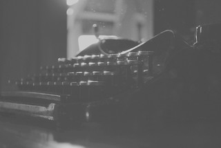 Vintage typewriter. | by Logan Jernigan