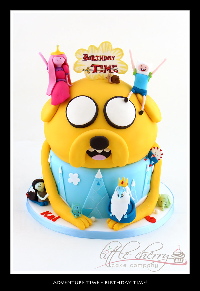 adventure time cake birthday time adventure time come o flickr