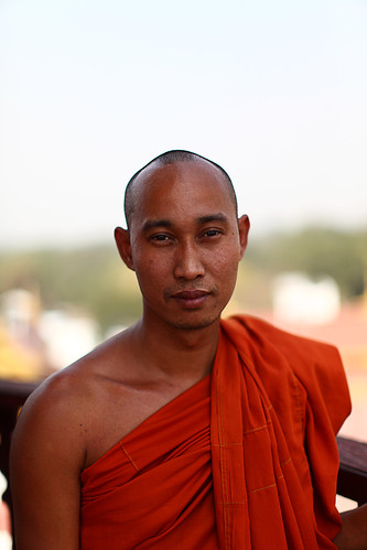 monk in Mandalay, Burma | by NastyNinja