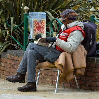 Big Issue Seller | by pipdouglas