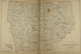 Page 214 & 215 of Town and city atlas of the State of Connecticut. / Compiled from government surveys, county records and personal investigations | by uconnlibrariesmagic