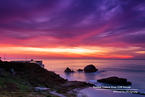 Sunset Colors Over Cliff House | by davidyuweb