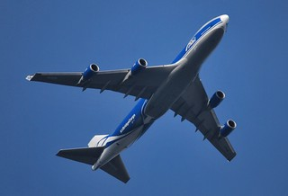 ABW625 Air Bridge Cargo Boeing 747 (VP-BIG) at FL57 from Moscow Sheremetyevo to Schiphol | by PictureJohn64