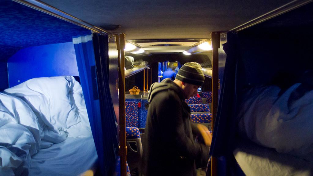 Megabus Sleeper Interior | www.indiepedia.org