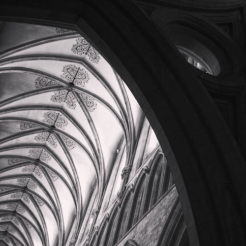 Nave, Wells Cathedral, Somerset, UK  [Explore #110] | by B&WPhotog