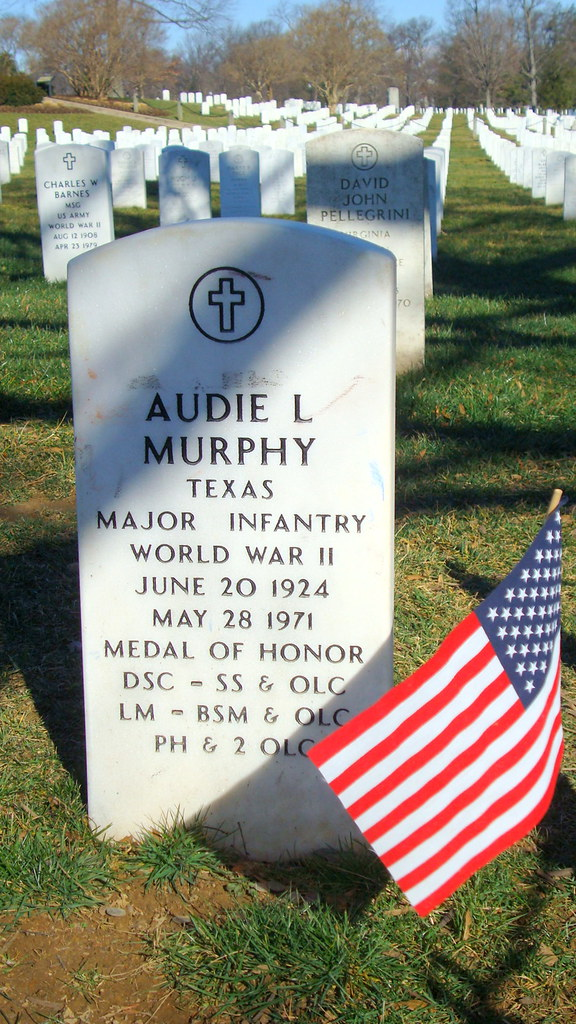 gravesite of audie murphy grave of the most decorated amer flickr