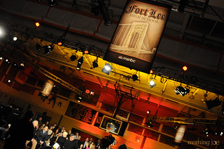 Fort Lee High School gymnasium | by Morning Joe show