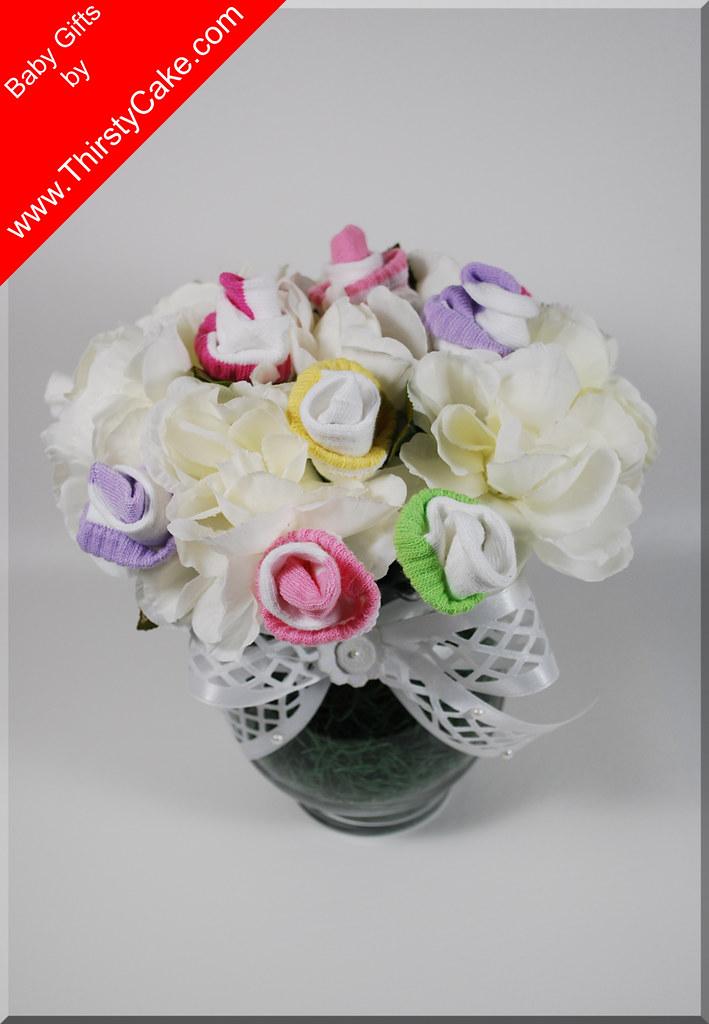 DIAPER CAKES FLOWERS BOUQUET | Diaper cakes flowers bouquet … | Flickr