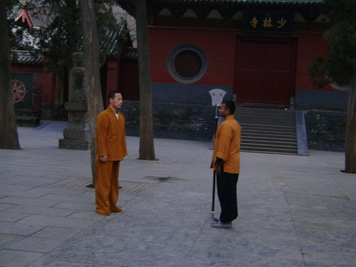 SHAOLIN SHIFU KANISHKA AND SHIFU SHI YANFANG | by INDIAN SHAOLIN