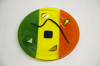 Student Plate 1 | by Northern Art Glass