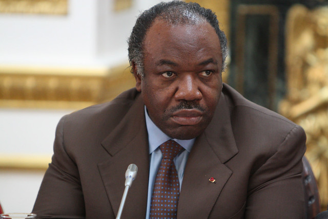 President of Gabon at the Climate Security Conference