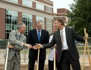 05-03-12 Governor Bill Haslam addresses the attendees of the MTSU Science Building groundbreaking ceremony | by Governor Bill Haslam