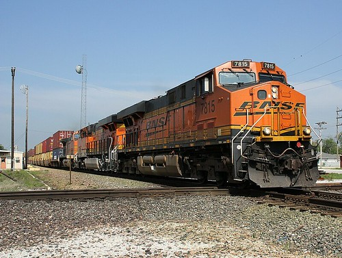 BNSF 7815 eastbound at Vinita Oklahoma. | by therailroadrooster