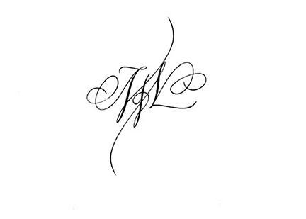 Calligraphie tatouage calligraphie tatouages lettres entre flickr - Calligraphie tatouage prenom ...