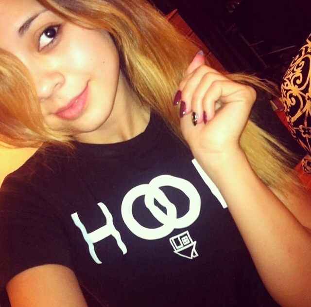 girl hair Pretty selfie blonde with