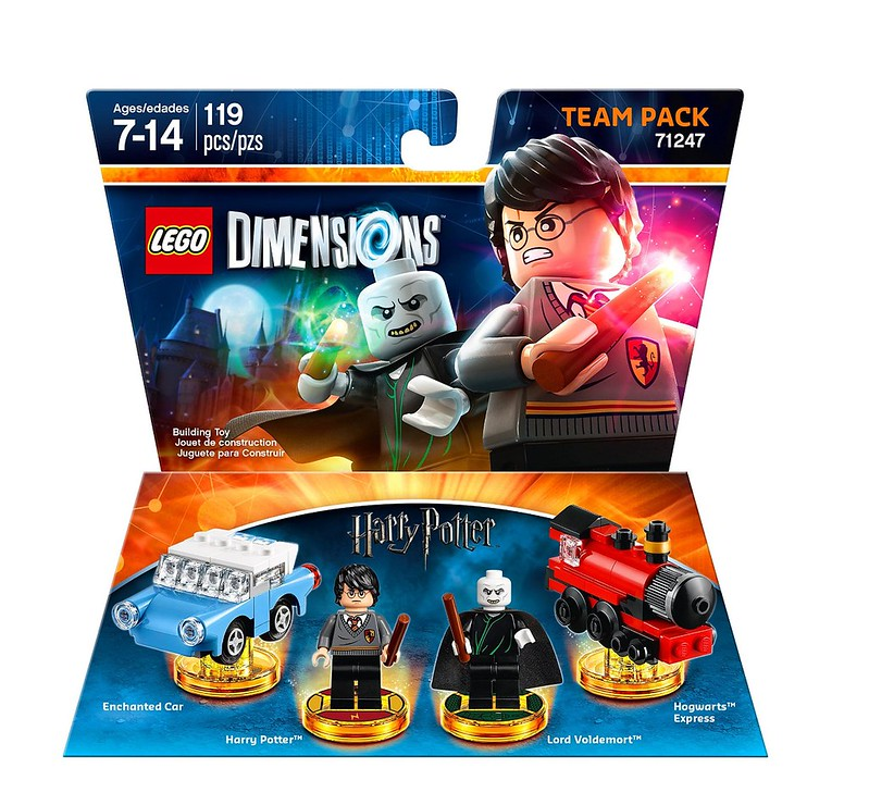LEGO Dimensions 2016: 71247 - Harry Potter Team Pack