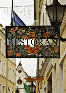 Colorful Restaurant Sign | by Edouard27