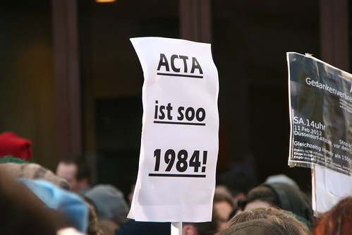 Anti ACTA Demo Düsseldorf | by Dennis Knake