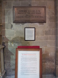 Elgar Memorial, Worcester Cathedral | by avail