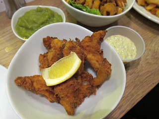 Fish Bites, Mushy Peas and Tartare Sauce | by su-lin