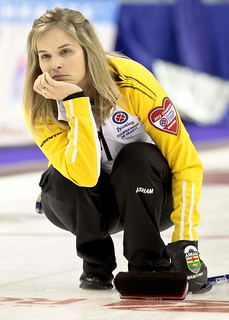 Jennifer Jones during Draw 3 | by seasonofchampions