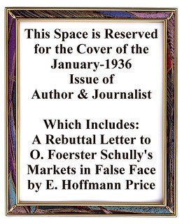 099a2 Author & Journalist Jan-1936 Includes a Rebuttal Letter by E. Hoffmann Price | by CthulhuWho1 (Will Hart)
