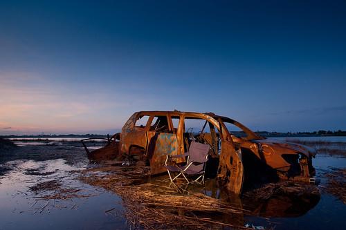 Abandoned Car Adrian Mo Feb