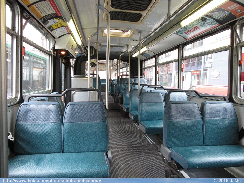 King County Metro 4257 Interior | Operated by: King County M… | Flickr