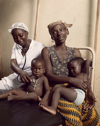 Arielle a nurse in the health center at Athiémé | by World Bank Photo Collection