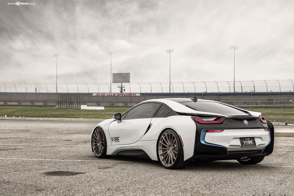 Bmw I8 On 22 Avant Garde M615 Brushed Frozen Latte Wheels Flickr