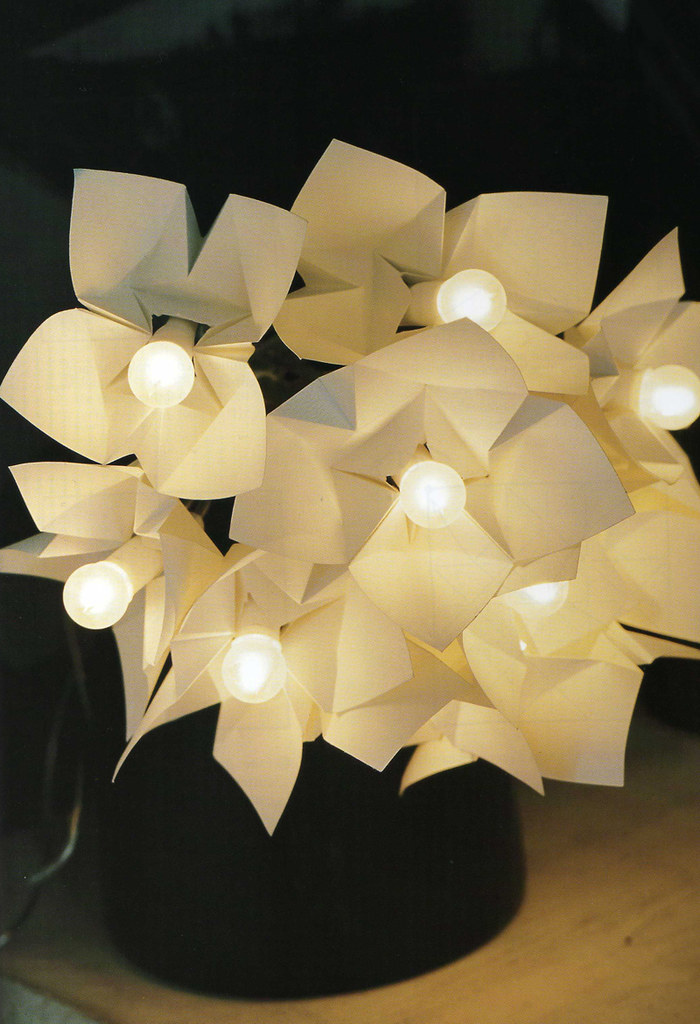 Origami Création Didier Boursin Luminaire Guirlande Flickr