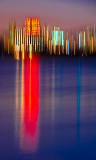 Montreal Five Roses Abstract Reflection | by Ronald Santerre
