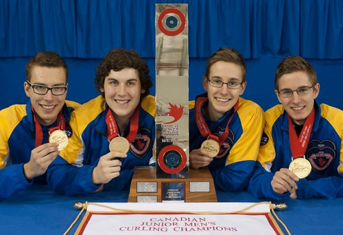 Napanee, ON Feb 12 2011 M&M Canadian Juniors Team Alberta. Michael Burns Photo Ltd. | by seasonofchampions