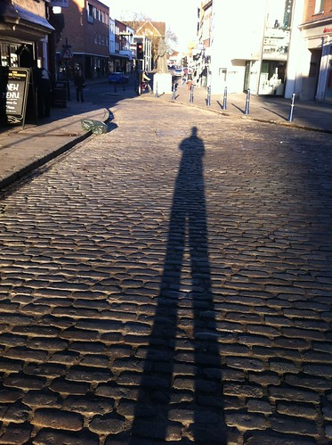 Me and my shadow — A sunny day in February | by Gav Shin