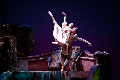 Shelby Dyer and Adam Still - Peter Pan 2012 - Photo by Terry Shapiro | by Colorado Ballet
