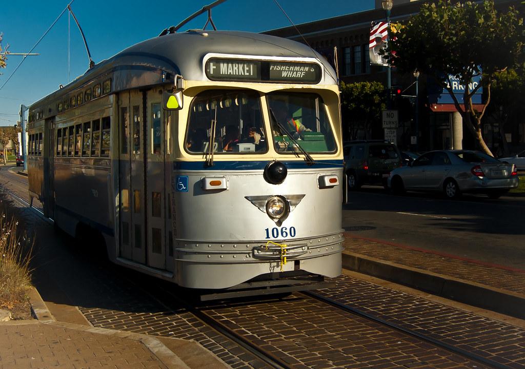 USA / California / San-Francisco / Grey Tram 01
